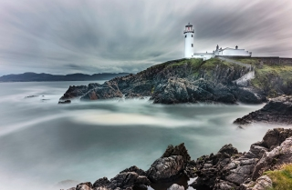Fanad lighthouse at rest