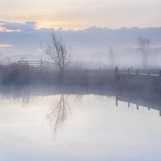 April mist - Pyes Mill