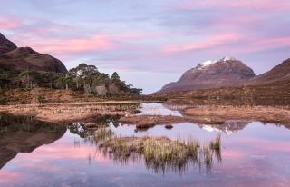 February dawn Loch Clair