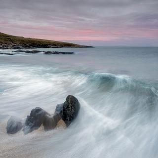Little beach dawn