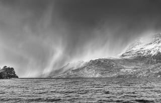 Loch Maree storm showers