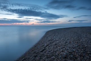 August daybreak Shingle Street