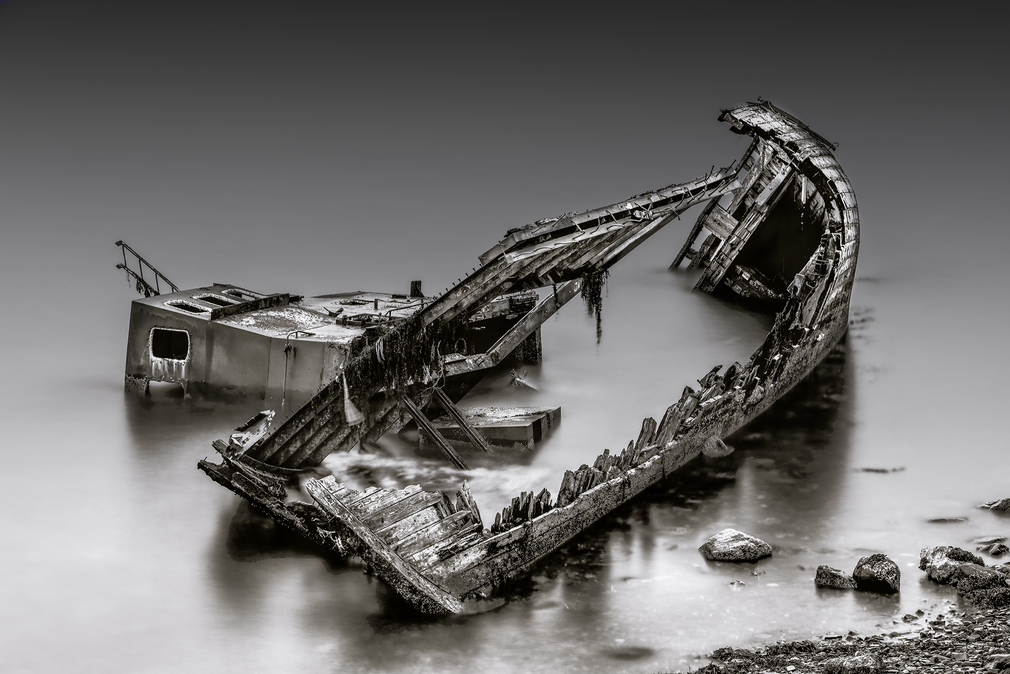The wreck of the Dayspring