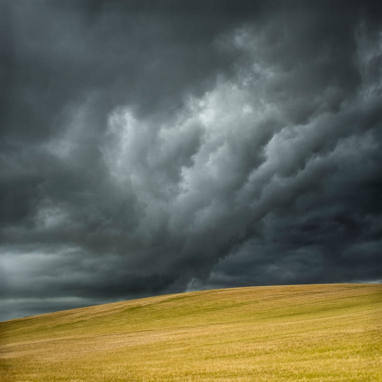 Stormy fields - Aberdeenshire