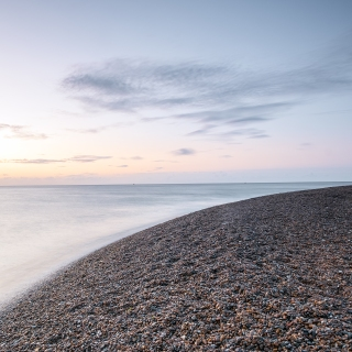 Summer dawn shingle street